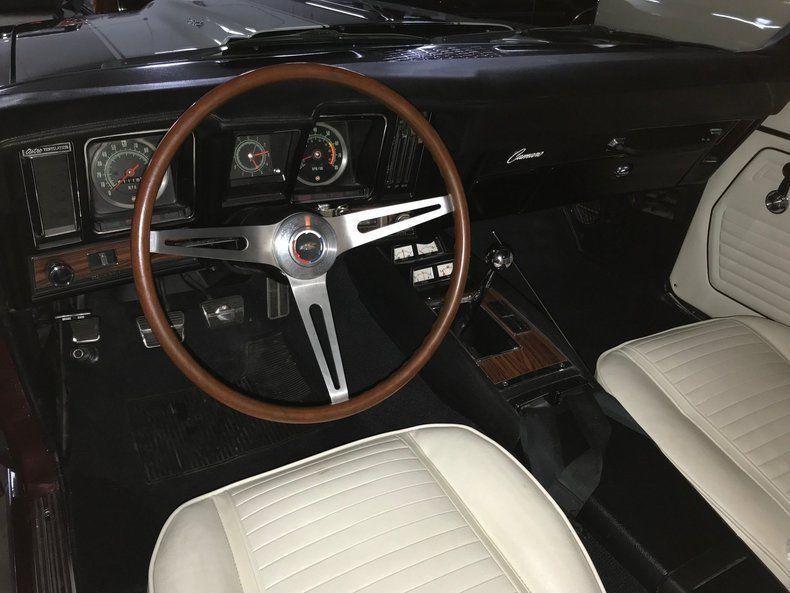 very nice 1969 Chevrolet Camaro RS Z28 convertible