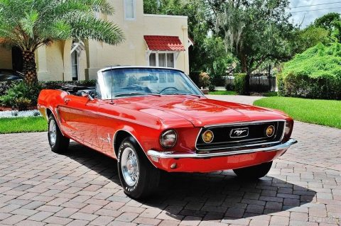 fully restored 1968 Ford Mustang convertible for sale
