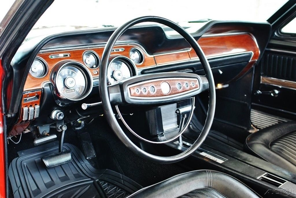 fully restored 1968 Ford Mustang convertible