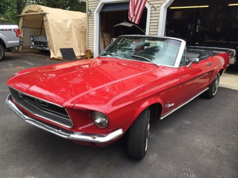 low miles 1968 Ford Mustang convertible for sale