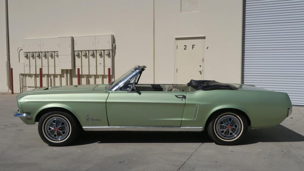 low miles 1968 Ford Mustang Convertible