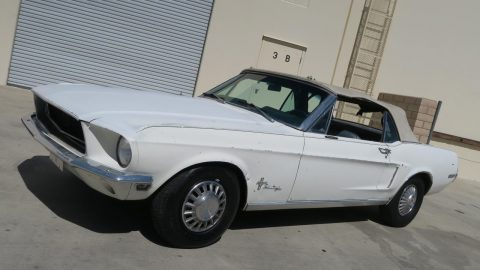minor imperfections 1968 Ford Mustang Convertible for sale