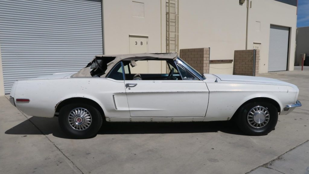 minor imperfections 1968 Ford Mustang Convertible
