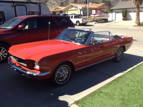 mostly original 1966 Ford Mustang Convertible for sale