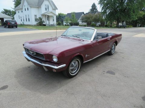 needs new top 1966 Ford Mustang CONVERTIBLE for sale