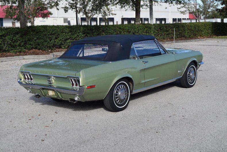 rare unrestored original 1968 Ford Mustang convertible