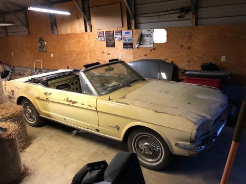 solid 1966 Ford Mustang Sprint Convertible for sale