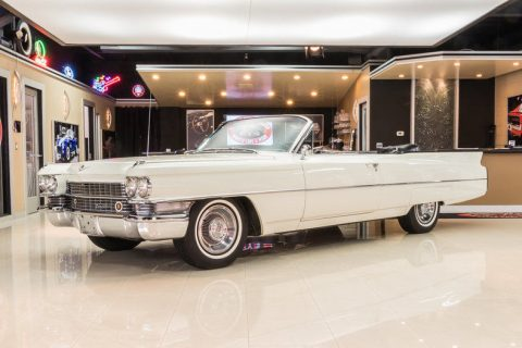 absolutely gorgeous 1963 Cadillac Deville Convertible for sale