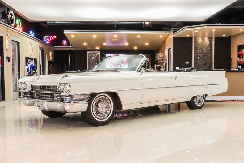 absolutely gorgeous 1963 Cadillac Deville Convertible