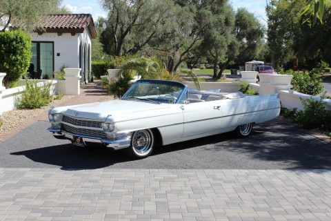 Completely Restored 1964 Cadillac Deville Convertible for sale