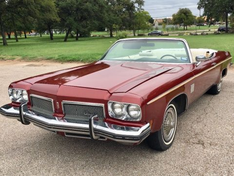 minor dents 1973 Oldsmobile Eighty Eight Royale convertible for sale