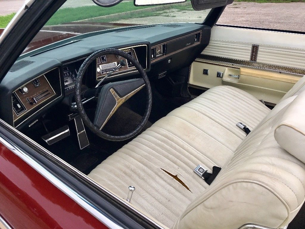 minor dents 1973 Oldsmobile Eighty Eight Royale convertible