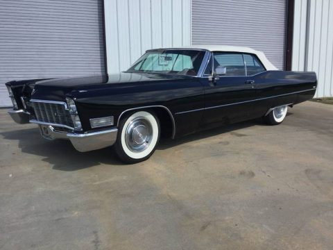 mint shape 1968 Cadillac Deville Convertible for sale