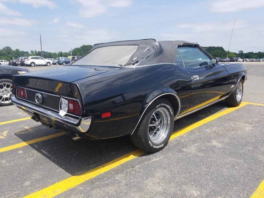 needs new top 1971 Ford Mustang CONVERTIBLE