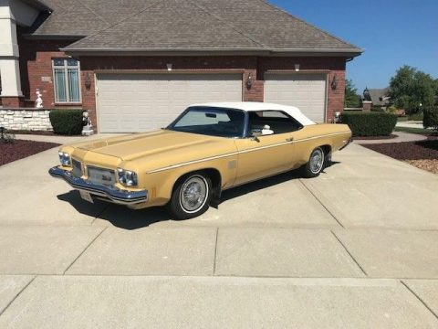 needs power top mechanism 1973 Oldsmobile Eighty Eight Convertible for sale
