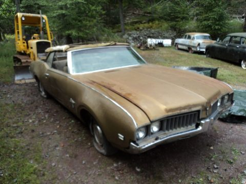 needs total restoration 1969 Oldsmobile Cutlass Convertible project for sale