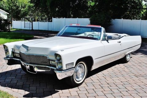 new paintjob 1968 Cadillac Deville Convertible for sale