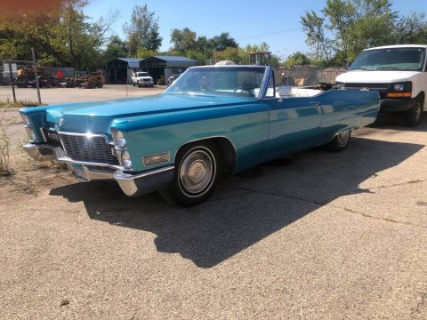 new parts 1968 Cadillac Deville Convertible for sale