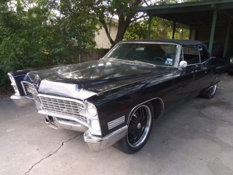 new top 1967 Cadillac DeVille Convertible for sale