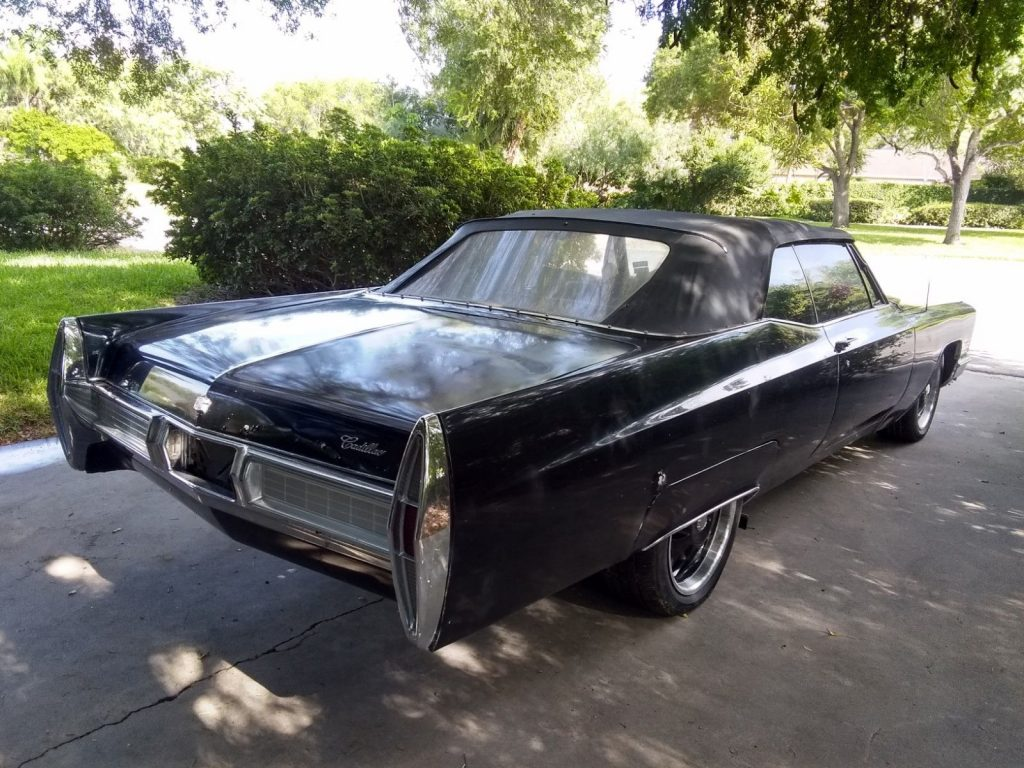 new top 1967 Cadillac DeVille Convertible