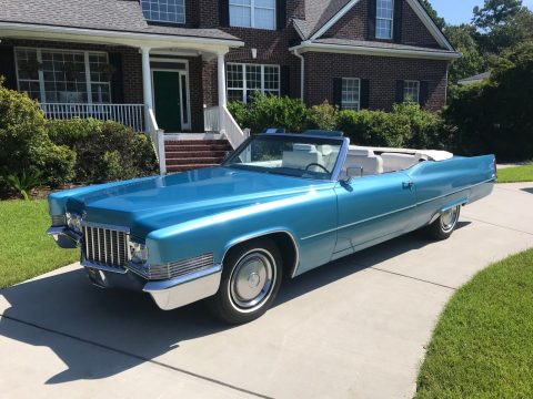 Original 1970 Cadillac Deville Convertible for sale