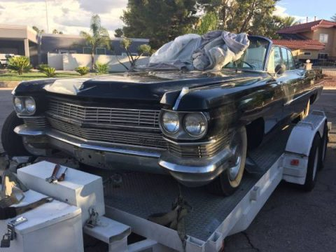 project 1964 Cadillac DeVille convertible for sale