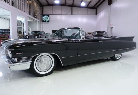 rare options 1960 Cadillac Series 62 convertible for sale
