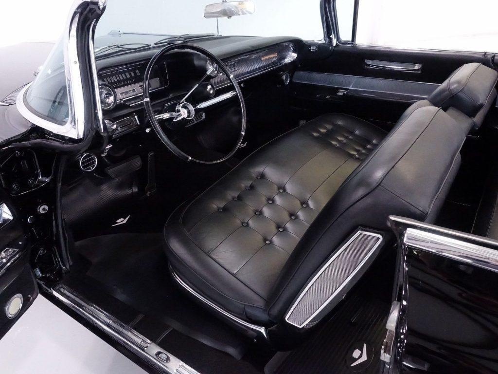 rare options 1960 Cadillac Series 62 convertible