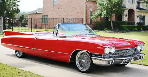 renewed 1960 Cadillac Series 62 Convertible for sale