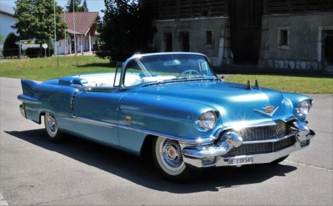 restored 1956 Cadillac Eldorado Biarritz Convertible for sale