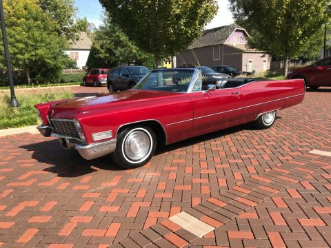 rust free 1968 Cadillac DeVille Convertible for sale