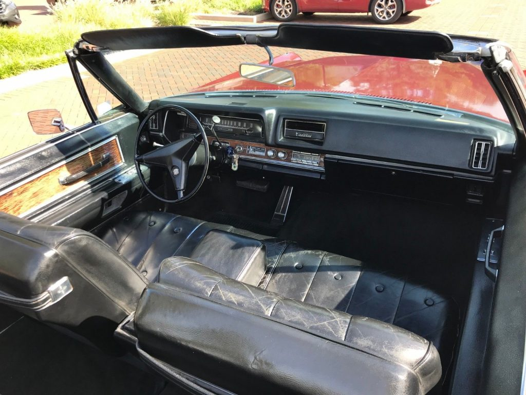 rust free 1968 Cadillac DeVille Convertible