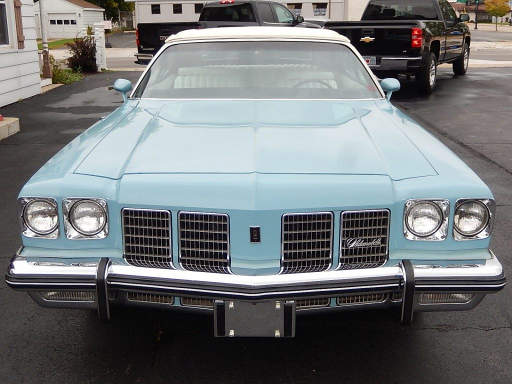 rust free 1975 Oldsmobile Eighty Eight Convertible