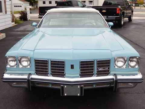 rust free 1975 Oldsmobile Eighty Eight Convertible for sale