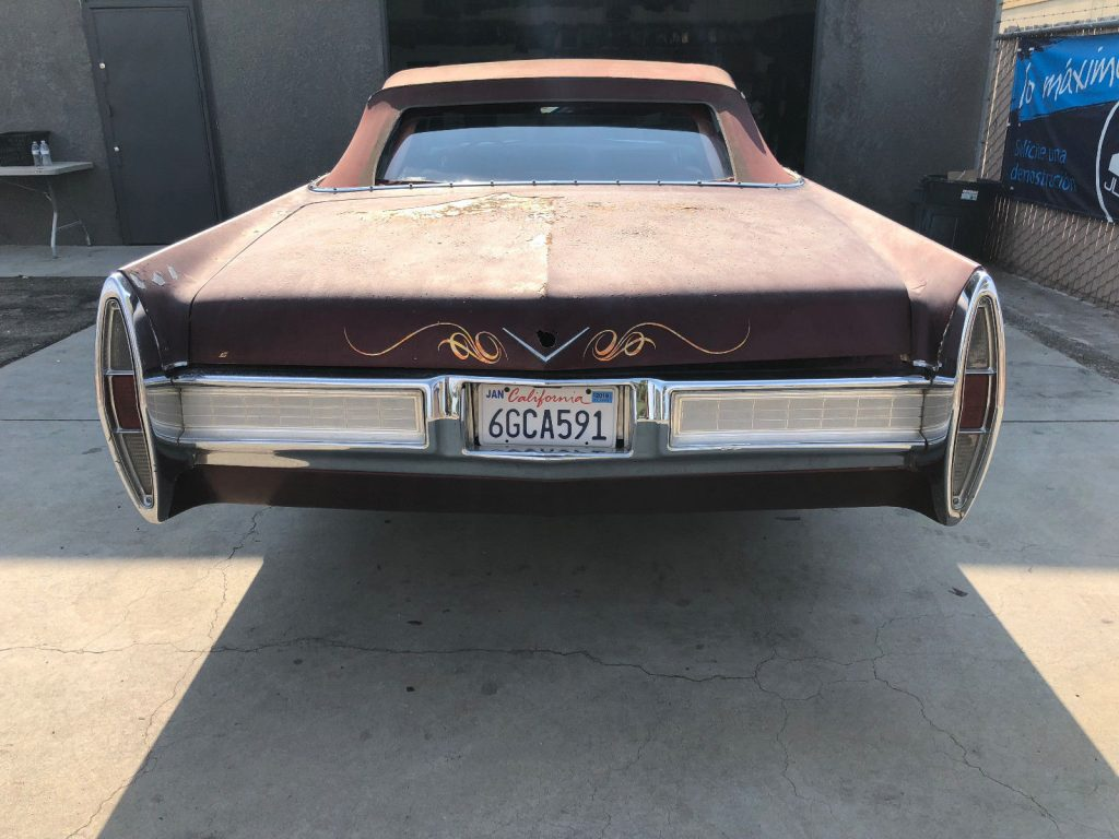 solid 1967 Cadillac DeVille Convertible