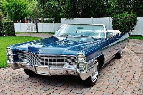 Stunning 1965 Cadillac Deville Convertible for sale