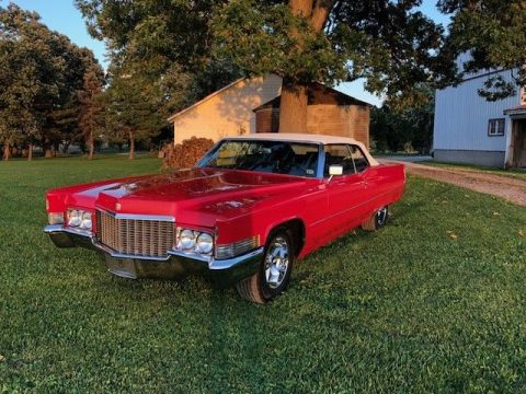 stunning classic 1970 Cadillac Deville Convertible for sale