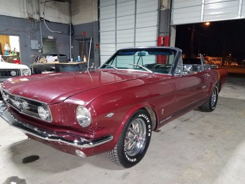 all original 1965 Ford Mustang GT Convertible for sale