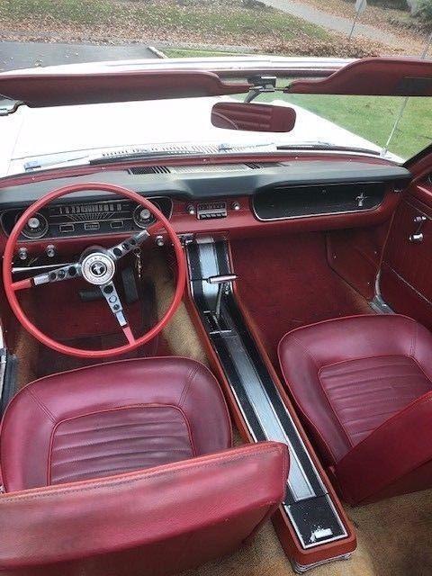 beautiful 1965 Ford Mustang Convertible