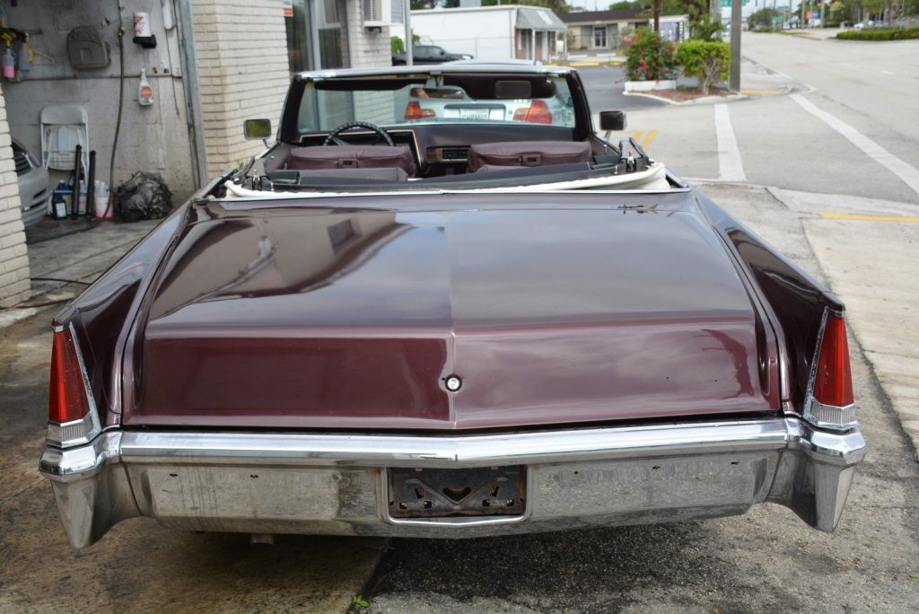 Beautiful 1969 Cadillac DeVille Convertible