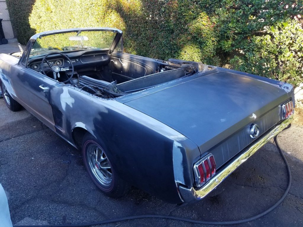 garage find 1965 Ford Mustang Convertible