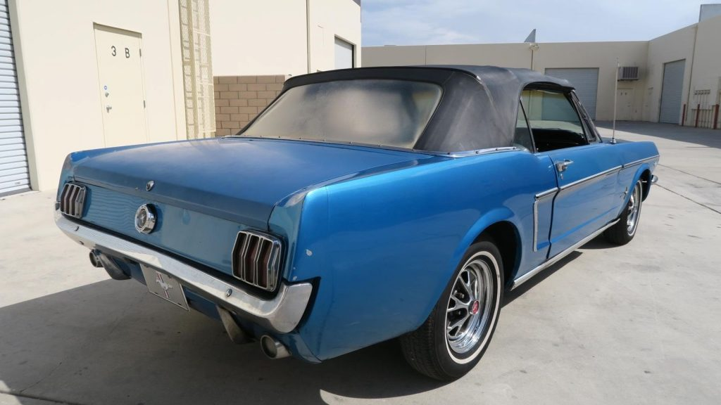 great shape 1965 Ford Mustang Convertible