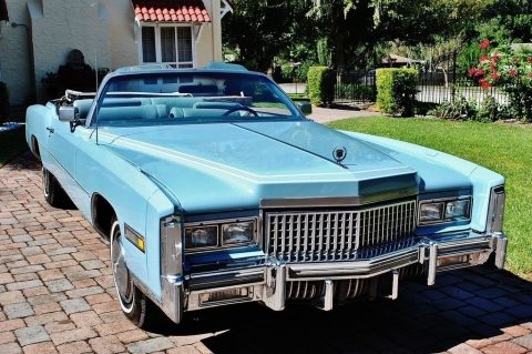 low miles 1975 Cadillac Eldorado Convertible for sale