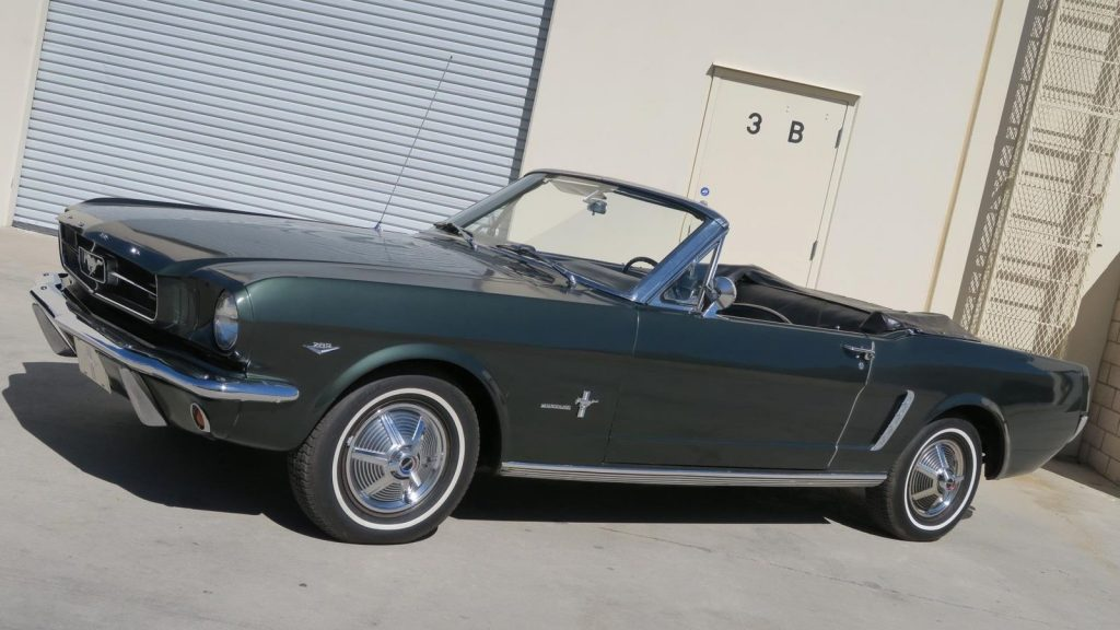 older paint 1965 Ford Mustang Convertible