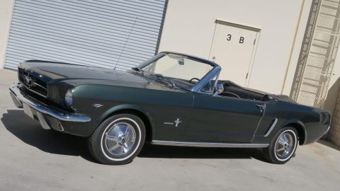 older paint 1965 Ford Mustang Convertible for sale