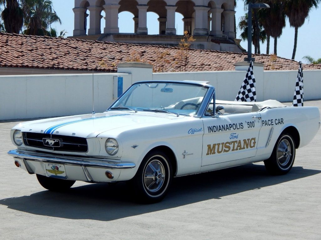 Pace Car Tribute 1965 Ford Mustang Convertible