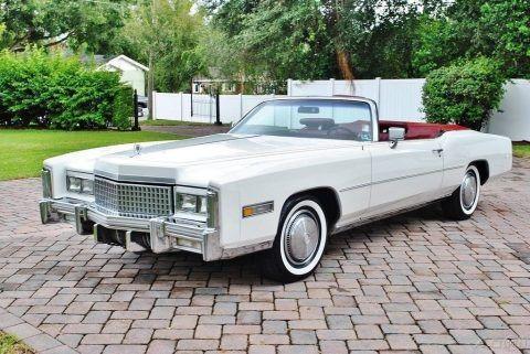 pristine 1975 Cadillac Eldorado Convertible for sale