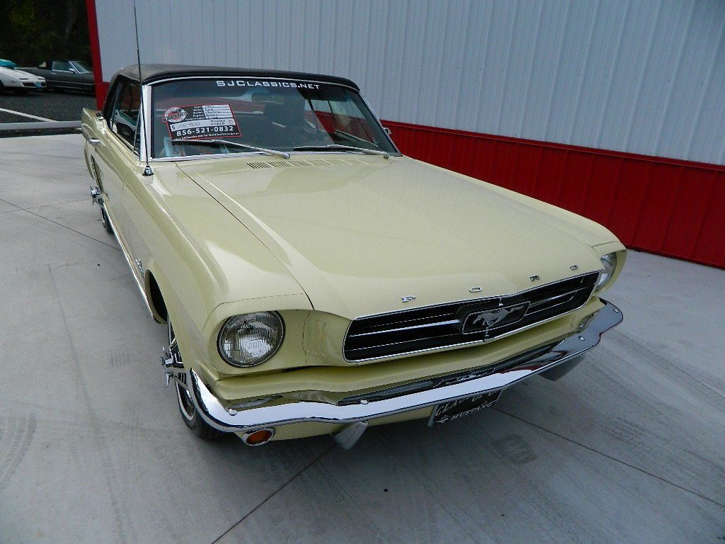 replaced top 1965 Ford Mustang Convertible