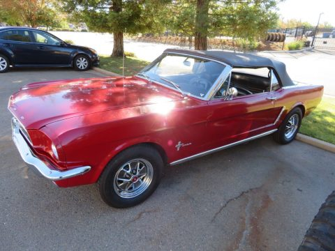rust free 1965 Ford Mustang Convertible for sale