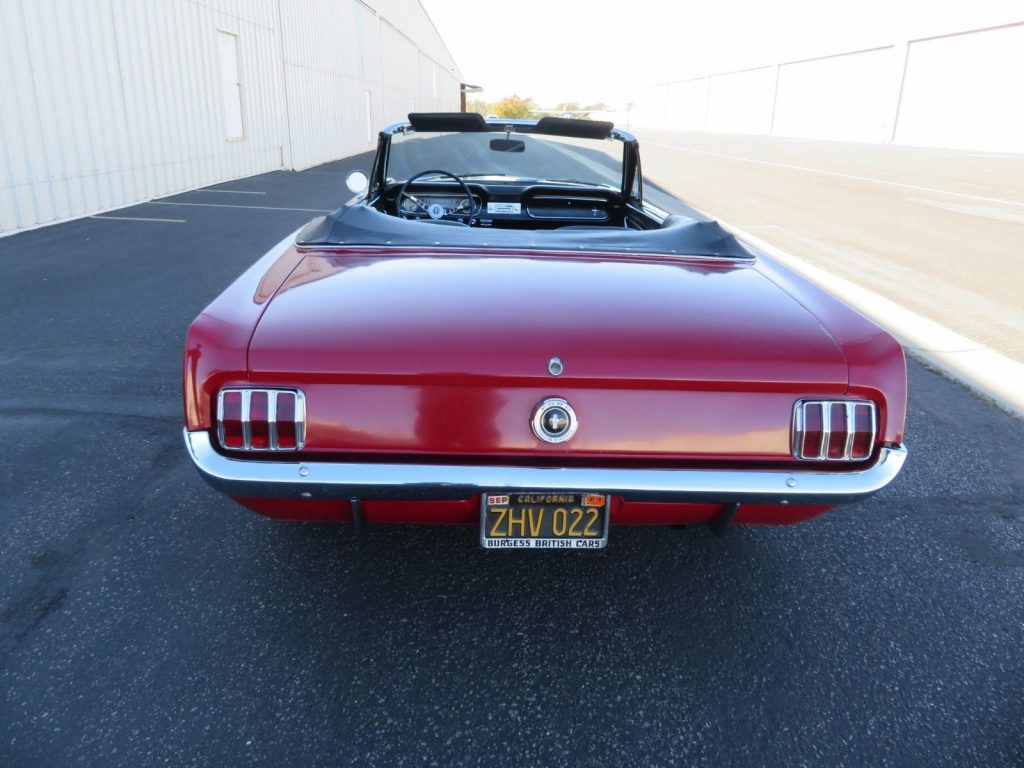 rust free 1965 Ford Mustang Convertible